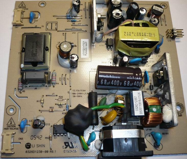Инвертор 0326D1230-00 монитора