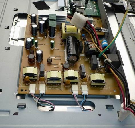 BENQ Q7T4, инвертор вид сверху