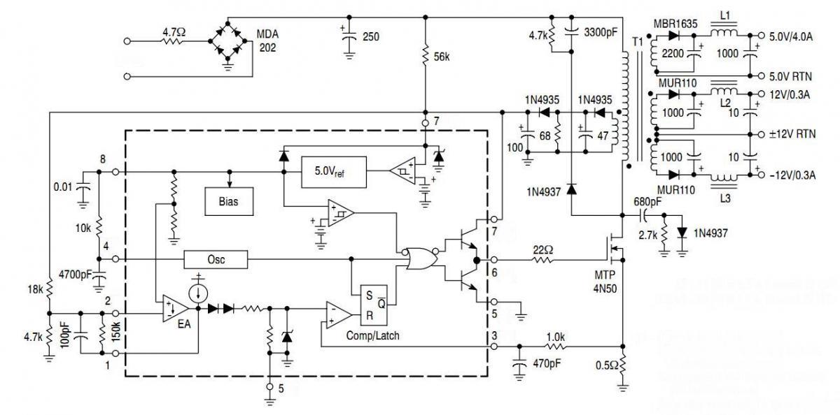 ka3843 power inverter circuit - SHEMS