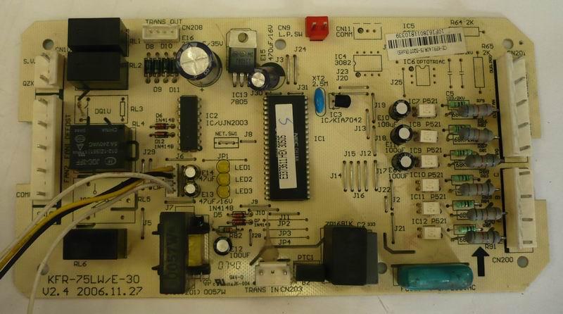 лок управления KFR-75LW/E-30,