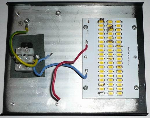 Охлаждающий радиатор, подложка