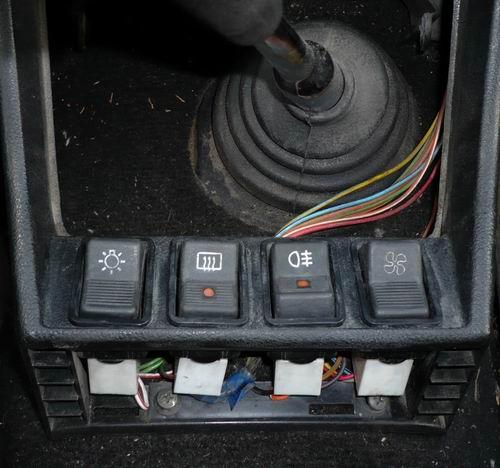 Полная схема автоматического устройства включения фар с вариантом подключения к цепи автомобиля ВАЗ2104.