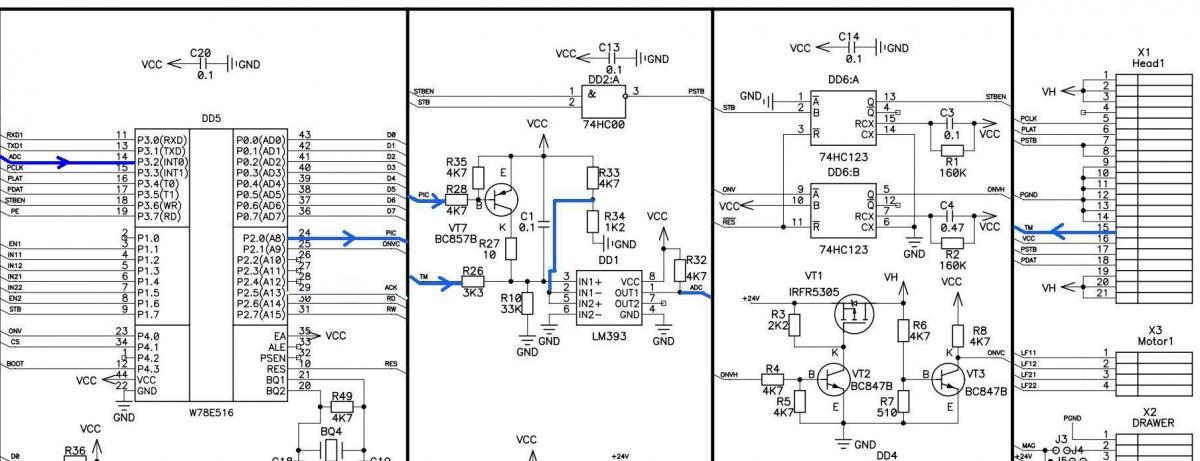 Схема формирования сигнала