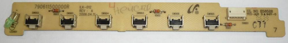 Клавиатура ILK-012 REV:A применяется в мониторах Samsung 720N