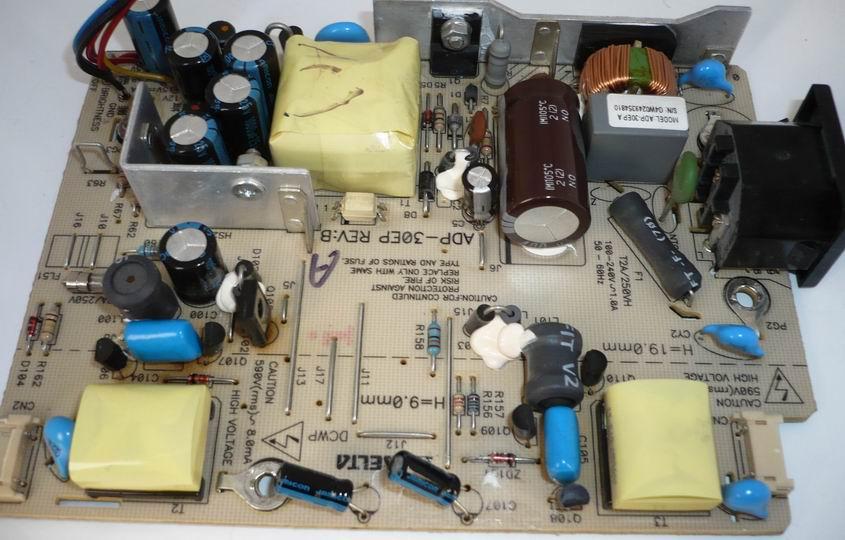 LG Flatron L1510S, инвертор