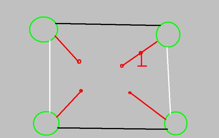Схема подключения датчиков.