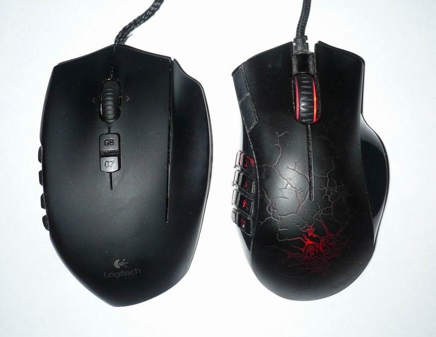 Игровые мышки Logitech